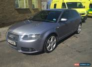 2007 AUDI A3 2.0 TDI 170 BHP S LINE QUATTRO 4WD 3 DR PRIVATE PLATES for Sale