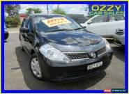 2007 Nissan Tiida C11 ST Black Automatic 4sp A Sedan for Sale