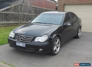 2005 Mercedes C180 Kompressor Auto,Black,AMG Alloys for Sale