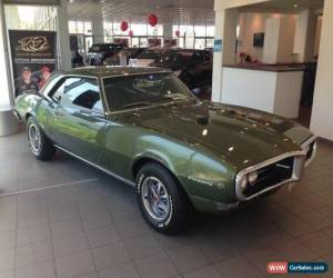 Classic 1968 Pontiac Firebird 400 Manual for Sale