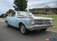 1967 XR Ford Falcon Futura Coupe Project Car 289 V8 AUTO - NO RESERVE.  for Sale