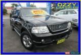 Classic 2004 Ford Explorer UZ Limited (4x4) Black Automatic 5sp A Wagon for Sale