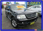 2004 Ford Explorer UZ Limited (4x4) Black Automatic 5sp A Wagon for Sale