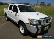 2006 Toyota Hilux KUN26R 06 Upgrade SR (4x4) White Manual 5sp M Dual C/Chas for Sale