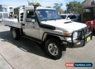 2013 Toyota Landcruiser VDJ79R MY12 Update GX (4x4) White Manual 5sp M for Sale