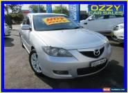 2007 Mazda 3 BK MY06 Upgrade Maxx Sport Silver Manual 5sp M Sedan for Sale