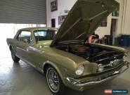 "Ford Mustang "" Genuine GT  A Code  rottisserie restored   xy xw falcon v8 chev for Sale"