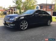 2012 Mercedes-Benz C250 CDI BlueEFFICIENCY Avantgarde Auto MY12 for Sale
