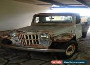 1960 Willys closed cab pickup for Sale