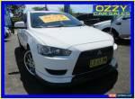 2007 Mitsubishi Lancer CJ ES White Automatic 6sp A Sedan for Sale