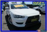 Classic 2007 Mitsubishi Lancer CJ ES White Automatic 6sp A Sedan for Sale
