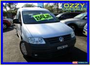 2006 Volkswagen Caddy 2K Life Silver Manual 5sp M Wagon for Sale