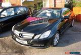 Classic 2009 59 MERCEDES-BENZ E CLASS 2.1 E250 CDI BLUEEFFICIENCY SE 2D AUTO 204 BHP DIE for Sale