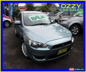 Classic 2009 Mitsubishi Lancer CJ MY09 ES Green Automatic 6sp A Sedan for Sale