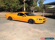 Ford bf xr8 Craig Lowndes not ss commodore  for Sale