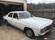 Holden HJ Kingswood not HQ HX HZ GTS for Sale