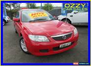 2003 Mazda 323 Astina Red Manual 5sp M Hatchback for Sale