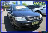 Classic 2004 Holden Astra TS Classic Black Manual 5sp M Sedan for Sale