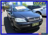 2004 Holden Astra TS Classic Black Manual 5sp M Sedan for Sale