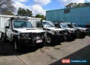 2012 Toyota Landcruiser VDJ79R MY12 Update GXL (4x4) White Manual 5sp M for Sale