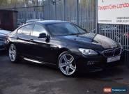 2013 BMW 6 Series 640 Gran Coupe 3.0d 313 DPF SS EU5 M Sport Auto8 Diesel black  for Sale
