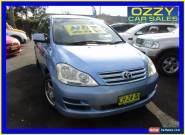 2007 Toyota Avensis ACM21R Verso GLX Blue Automatic 4sp A Wagon for Sale