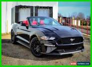 2018 Ford Mustang GT Premium Convertible for Sale