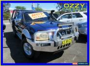 2006 Nissan Navara D22 ST-R (4x4) Blue Manual 5sp M for Sale