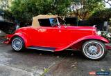 Classic 1932 Ford Deluxe Roadster - Hot rod for Sale