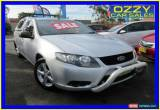 Classic 2010 Ford Falcon FG (LPG) Silver Automatic 4sp A Utility for Sale