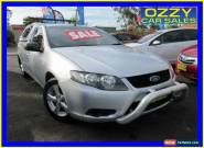 2010 Ford Falcon FG (LPG) Silver Automatic 4sp A Utility for Sale