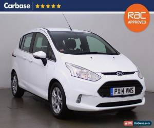 Classic 2014 FORD B MAX 1.4 Zetec 5dr MPV 5 Seats for Sale