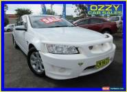 2013 Holden Commodore VE II MY12.5 Omega White Automatic 6sp A Sedan for Sale