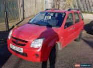 Suzuki Ignis 1.3 2003 Red VVT 5dr None starter~In Good condition Manual Petrol for Sale