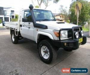 Classic 2011 Toyota Landcruiser VDJ79R 09 Upgrade GX (4x4) White Manual 5sp M for Sale