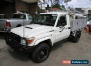 2010 Toyota Landcruiser VDJ79R 09 Upgrade GX (4x4) White Manual 5sp M for Sale