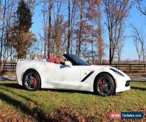 Classic 2017 Chevrolet Corvette Stingray Convertible 2-Door for Sale