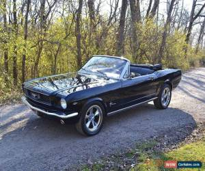 Classic 1966 Ford Mustang 2 DOOR CONVERTIBLE 4SPD for Sale