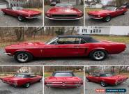 1968 Ford Mustang 289 Convertible for Sale