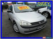 2002 Holden Barina XC Silver Automatic 4sp A Hatchback for Sale