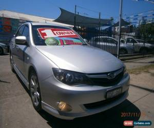 Classic 2009 Subaru Impreza MY09 RS (AWD) Silver Manual 5sp M Sedan for Sale