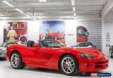 Classic Dodge: Viper SRT-10 for Sale