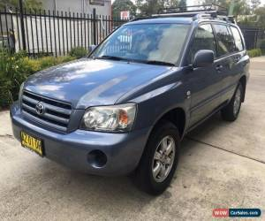 Classic 2007 Toyota Kluger CV V6 AWD Wagon ** NEEDS WORK for Sale