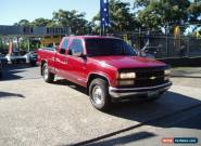 1995 Chevolet silverado 1500 4x4 V8 LPG - PETROL Ute Extended Cab for Sale