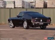 1967 Ford Mustang Fastback Show Car Black 2 door Manual 390 Big Block for Sale