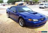 Classic 2002 Ford Mustang Gt Convertible for Sale