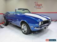 1968 Chevrolet Camaro Convertible for Sale