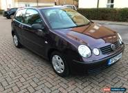 2002 Volkswagen Polo 1.4 ( 75bhp ) S -  for Sale