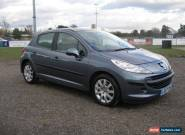 2007 PEUGEOT 207 SE 1.6 AUTOMATIC GREY  ( Only 46,000 Miles ) for Sale