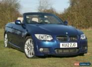 BMW 325d M Sport Convertible Auto for Sale